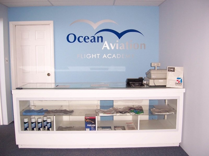 Front Counter at Ocean Aviation